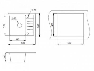 размеры-кухонной-мойки-Granula-ST-5803