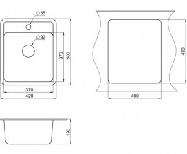размеры-кухонной-мойки-Granula-ST-4202