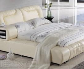 кожаные кровати купить