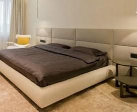 кровати с мягкими панелями