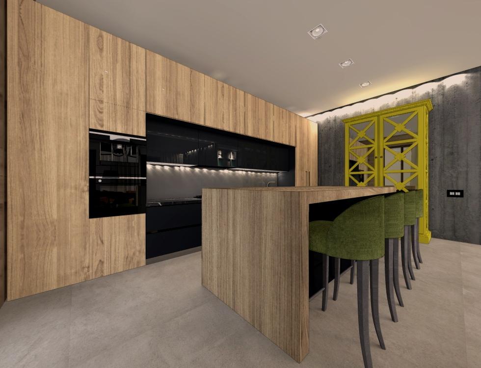 дизайн и изготовление встроенных кухонь на заказ в Волгограде