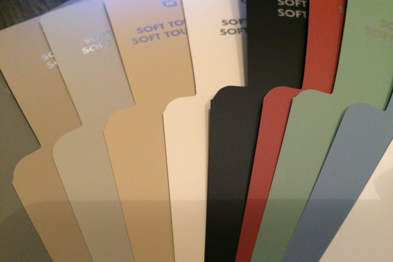 Супер матовые фасады Soft-touch для мебели