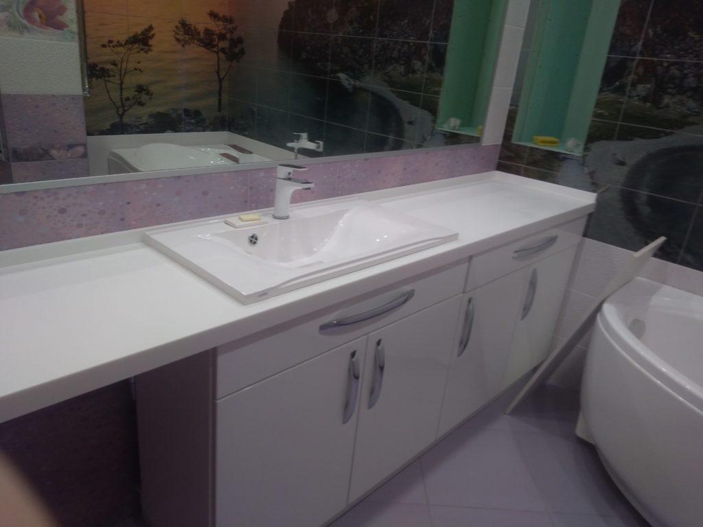 мебель для ванной по индивидуальным размерам