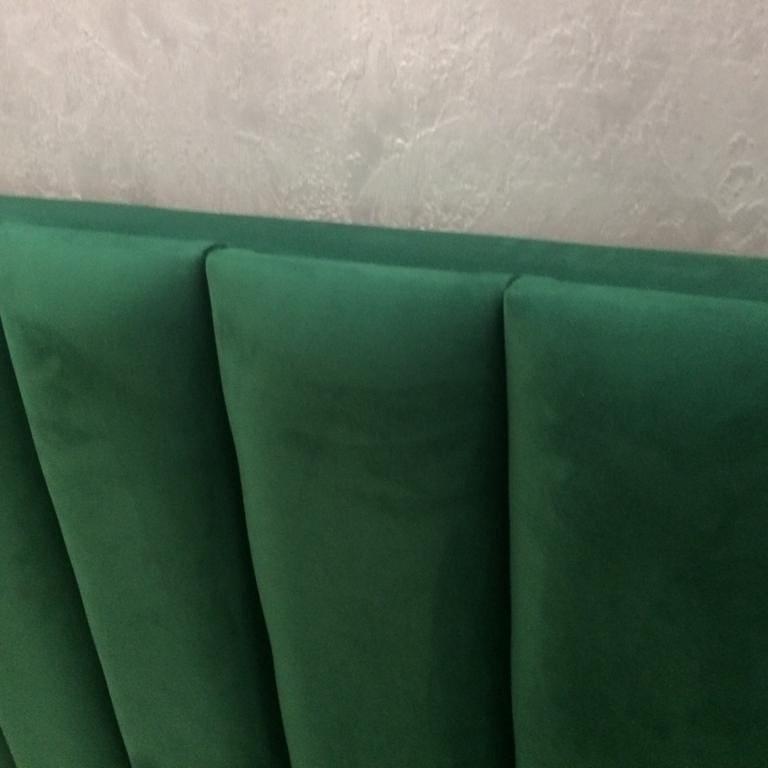 мягкие панели на спинке кровати