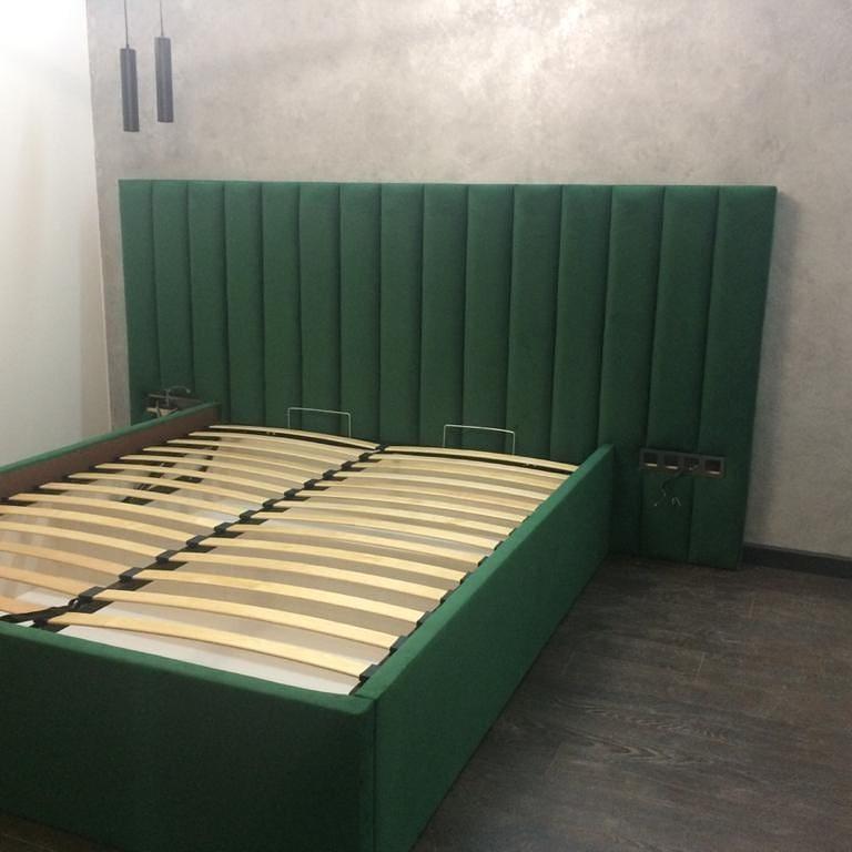 Двухспальные кровати с ортопедическим основание и подъемным механизмом